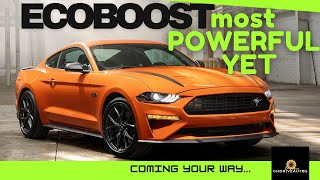 Best Most Powerful 2.3l 4 cylinder Ford Mustang Ecoboost Turbocharge Engine by Ford Ever