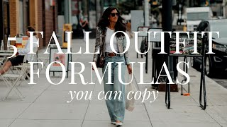 5 Easy & Timeless Fall Outfit Formulas To Copy   AD
