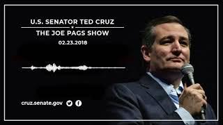 Sen. Cruz on The Joe Pags Show - February 23, 2018