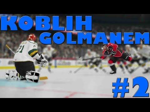 NHL 20 | KOBLIH GOLMANEM #2 | PRVNÍ ZÁPAS! | CZ/SK