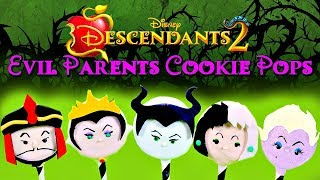 DESCENDANTS 2 EVIL PARENTS OREO COOKIE POPS (2017 HALLOWEEN SERIES)