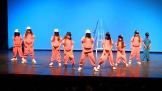 Academia de Dança Ana Monteiro - Coreografia Hip Hop Kids - 16 Junho 2013