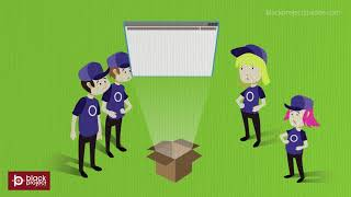 power consulting company animated video