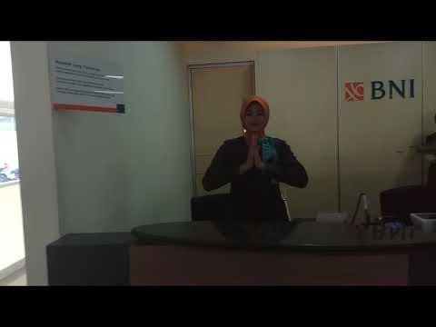Teller super kantor cabang utama Padang