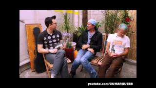 Hoppus On Music - Interview Red Hot Chili Peppers July 2011 [HD]