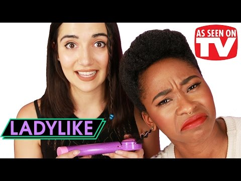 """Women Try """"As Seen on TV"""" Hair Products • Ladylike"""