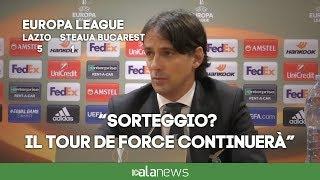 """Europa League, Inzaghi: """"Sorteggio? Spero di evitare Arsenal e Atletico M."""""""
