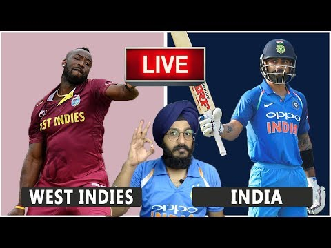 West Indies VS India Live Match REACTION | 3rd T20 | WI VS IND | Live Score and Reaction
