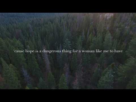 Lana Del Rey: Hope Is A Dangerous Thing For A Woman Like Me To Have-But I Have It (with Lyrics)