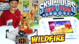 Skylanders Trap Team: Meet WILDFIRE (Exclusive Gameplay w/ New FIRE Trap Master!)