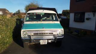Dodge Xplorer 224. 1971 B300 Walk Around Tour
