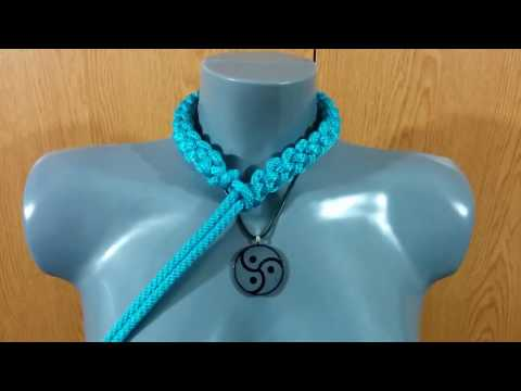 Rope Bondage Tutorial: Neck Collar