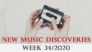 New Music Discoveries - Week 34/2020