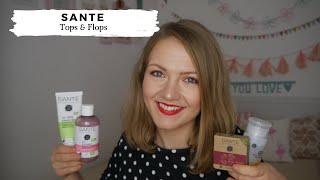 Sante Tops & Flops // Großer Naturkosmetik-Test! // Gesicht, Haar, Körper, Make Up // annanas beauty