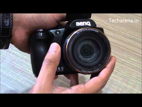 BenQ GH800 DSLR Camera Video Review