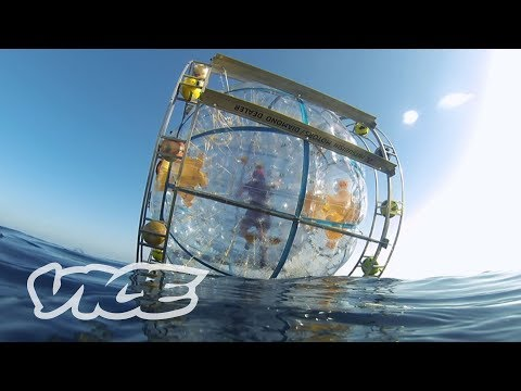 Florida Man Runs to Bermuda in a Giant Bubble