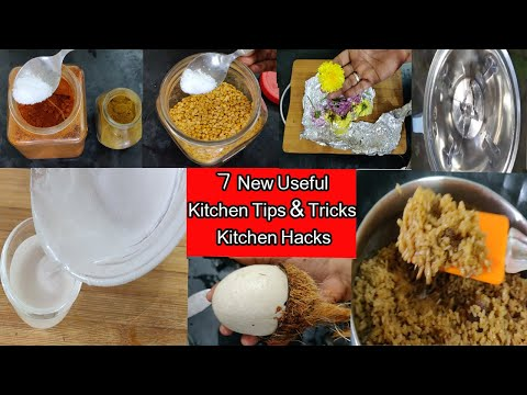7 New Useful Kitchen Tips||Tricks||Kitchen  Hacks|Best Kitchen Tips in Tamil||sembavinveedu