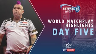2020 Betfred World Matchplay Highlights | Day Five
