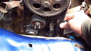 Замена ремня ГРМ ВАЗ 2108-21099 карбюратор,замена помпы