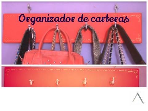 Organizador de carteras / D.I.Y / Organizador de bolsos