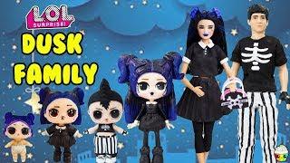 Dusk Family DIY Custom Fun Craft With Barbie and Ken Cupcake Kids Club