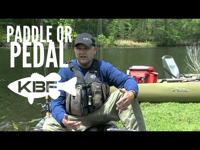 Kayak Fishing - Paddle or Pedal