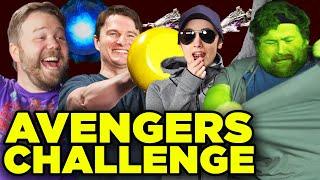 Avengers Battle of New York Escape Room! Avengers Fitness Challenge Episode 3