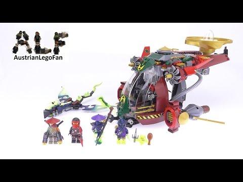 Vidéo LEGO Ninjago 70735 : Le Jet hybride de Ronin