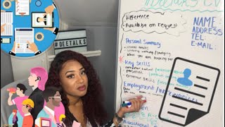 #DeeTalks: HOW TO WRITE A CV WITH NO WORK EXPERIENCE!