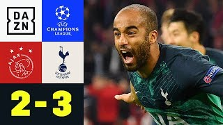 90+6! Lucas Moura Schockt Ajax: Ajax Amsterdam - Tottenham Hotspur 2:3 | Champions League | DAZN