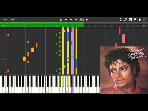 Thriller by Michael Jackson - MIDI