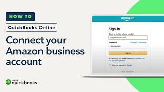How to connect your Amazon Business account to QuickBooks