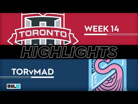 Торонто 2 - Forward Madison 1:1. Видеообзор матча 28.06.2019. Видео голов и опасных моментов игры