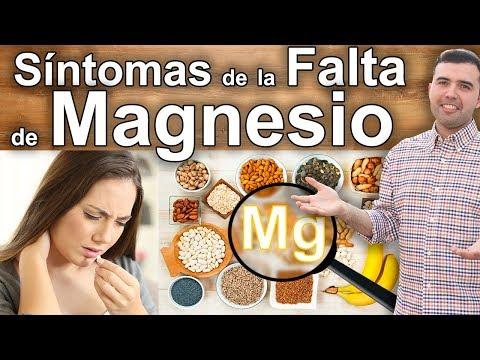 Síntomas de la Falta de Magnesio - 10 Signos para Tomar Cloruro de Magnesio y Para Que Sirve