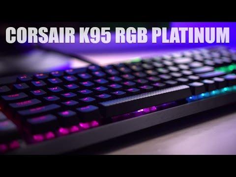 Corsair K95 RGB Platinum Keyboard Review… is it worth it??