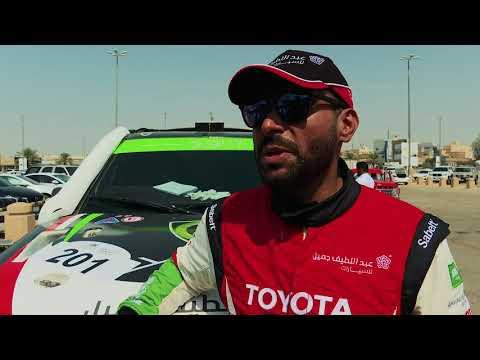 Yazeed Alrajhi & Michael Orr wins Al Qassim Rally'19 , SS3