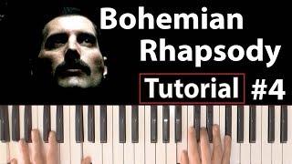 """Como Tocar """"Bohemian Rhapsody""""(Queen) - Parte 4/4 - Piano Tutorial, Partitura Y Mp3"""