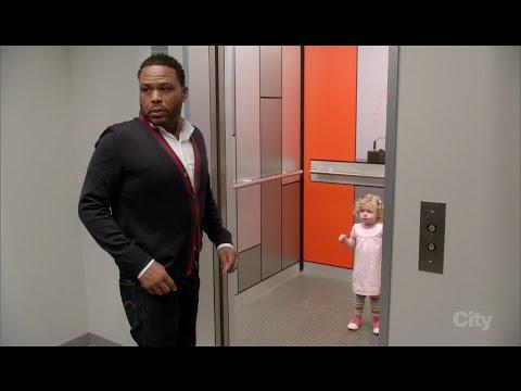 Black-ish Little Girl in Elevator Scene