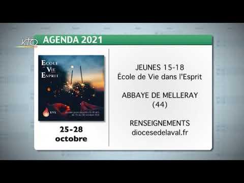Agenda du 15 octobre 2021