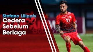 Stefano Lilipaly Alami Cedera Jelang Laga Kontra Singapura di Piala AFF 2018