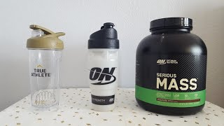 how to use  serious MASS weight gainer ( chocolate )