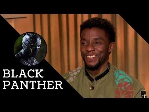 Chadwick Boseman on Being Marvel's First Black Superhero