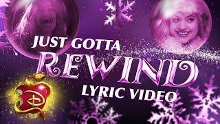 Audrey's Christmas Rewind 🎄 | Lyric Video | Descendants 3