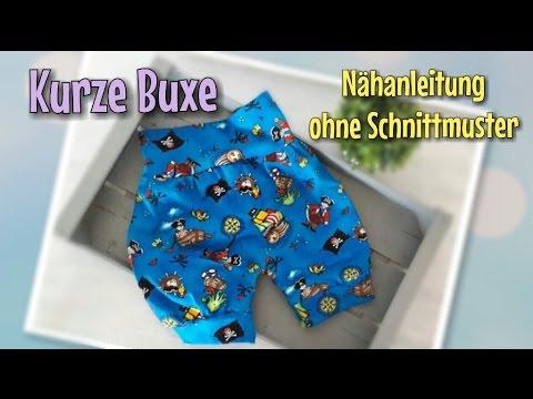 Kurze Buxe - Nähanleitung OHNE Schnittmuster - Nähtinchen