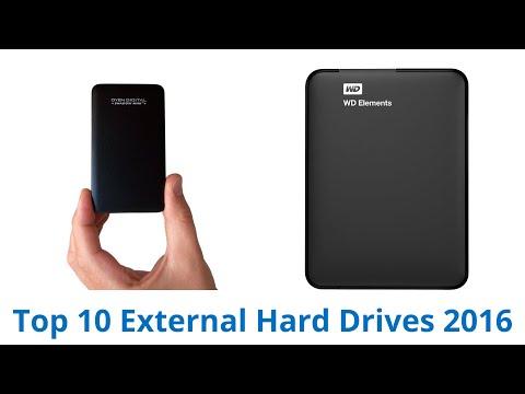 10 Best External Hard Drives 2016