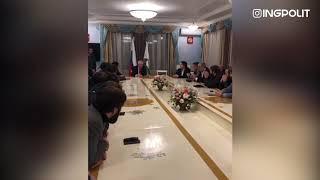 Встреча молодежи с Председателем Парламента РИ и И.О. руководителя Администрации Главы РИ / INGPOLIT