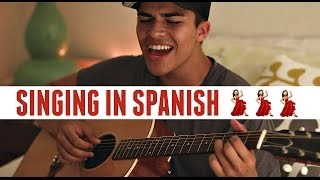SINGING IN SPANISH! | Solamente Tú by Pablo Alborán | Cover by Alex Aiono