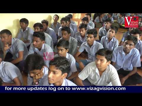 Akshaya Patra and Vedic Science Club distribute notebooks
