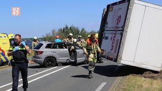 Zes gewonden bij ernstig ongeluk N201 Vinkeveen