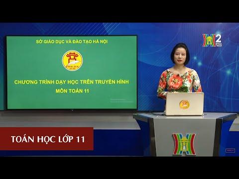 MÔN TOÁN - LỚP 11 | ĐƯỜNG THẲNG VUÔNG GÓC VỚI MẶT PHẲNG (TIẾT 3) | 16H30 NGÀY 16.04.2020 | HANOITV